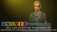 Times Higher Education. Belts, roads and moorings: New challenges and possibilities for reimagining universities in the next decade. Susan Robertson /30.08.2018/