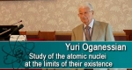 Study of the atomic nuclei at the limits of their existence